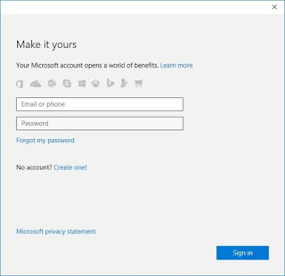Link license key to Windows Account