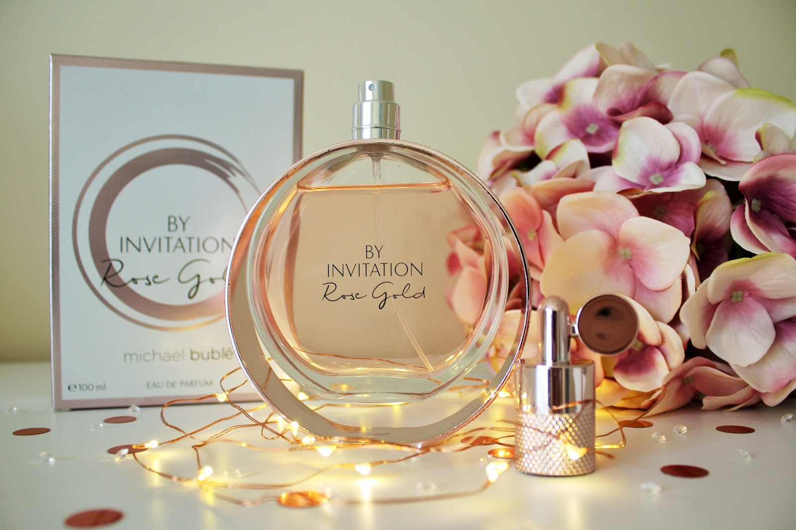 Michael Buble By Invitation Rose Gold Perfume Review - 4