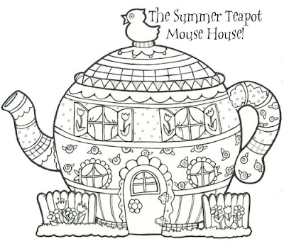 A New Mouse House Project To Color Cut Out And Add Your Wall Here S The Link Pdf You Can