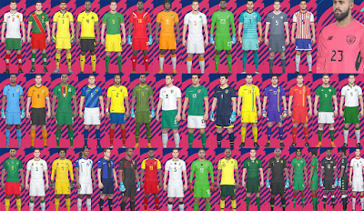 PES 2018 National Team Kitpack v7 by Hawke