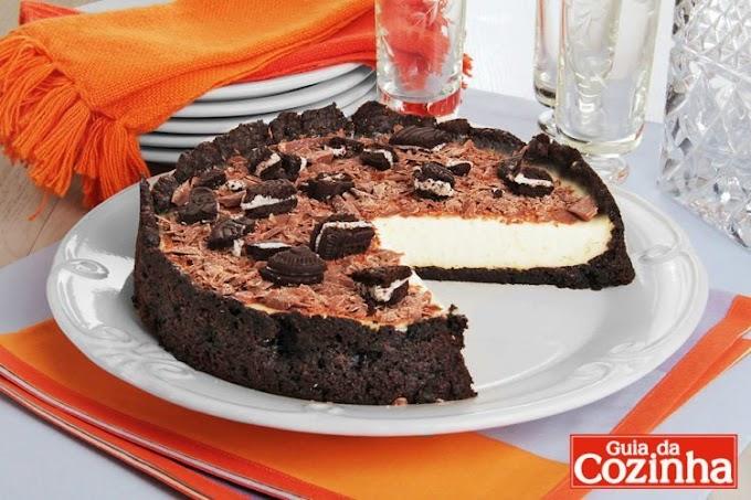 Como Fazer Torta de Oreo?
