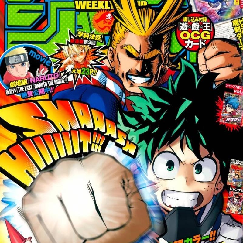 Um dos melhores mangás atuais da Jump! Saiba o motivo pra ler Boku no Hero Academia!