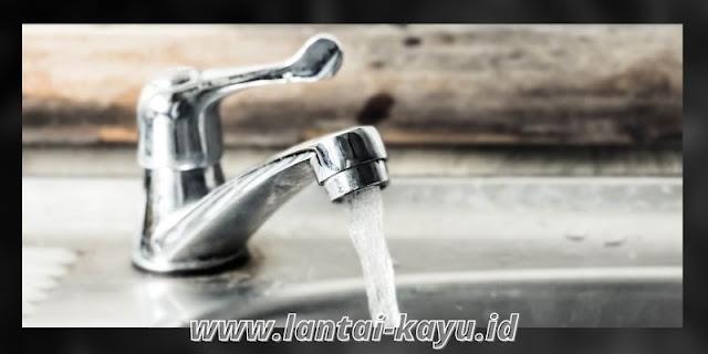 tips menciptakan rumah yang sehat - harus ada sistem air bersih