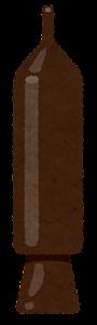チョコペンのイラスト(チョコレート)