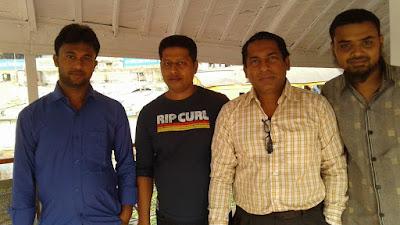 Md Meherab Ali with Mosharraf Karim