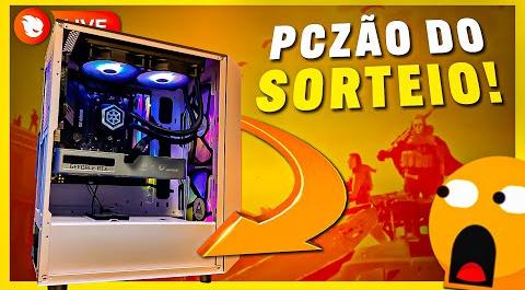 Sorteio PC Gamer com Ryzen 5 5600G e RTX 3060