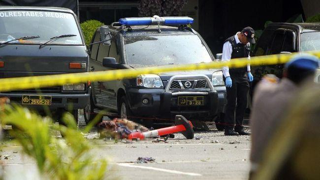 Fakta Terkini Bom Bunuh Diri di Mapolrestabes Medan