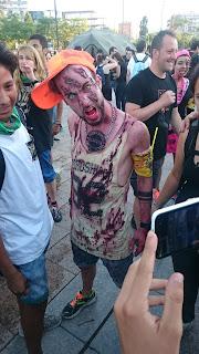 Zombie peligroso