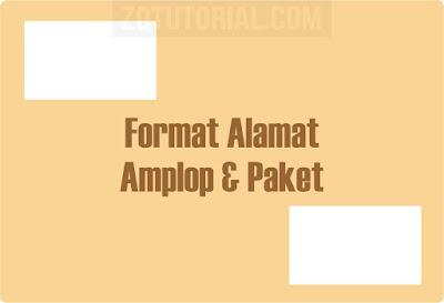 12 Format Penulisan Alamat di Amplop dan Paket Sesuai Standar POS