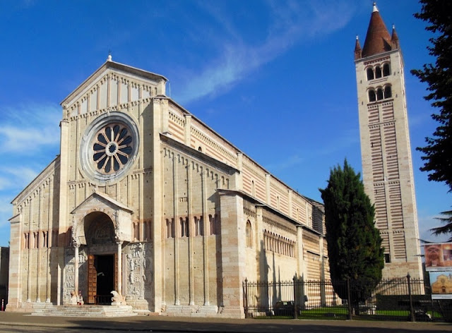 Basílica di San Zeno Maggiore em Verona na Itália
