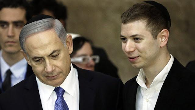 El hijo de Netanyahu recibe duras críticas por compartir una caricatura antisemita en Facebook