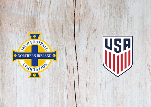 Northern Ireland vs United States -Highlights 28 March 2021