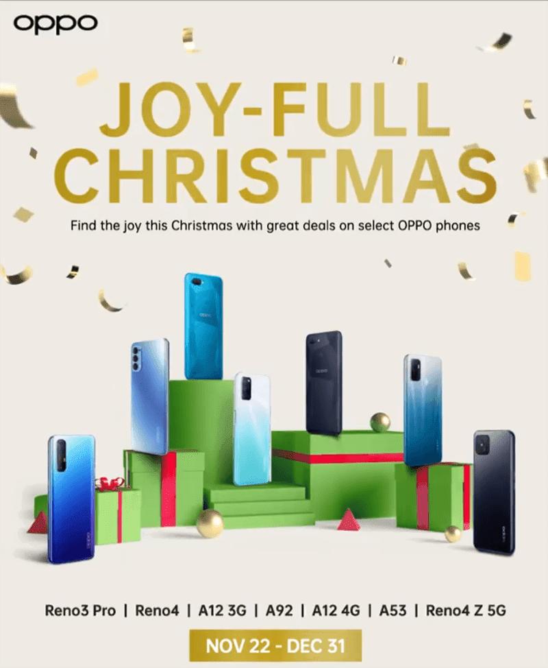 OPPO JOY-FULL Christmas sale