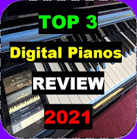 Top 3 Digital Pianos for 2021 in all price ranges