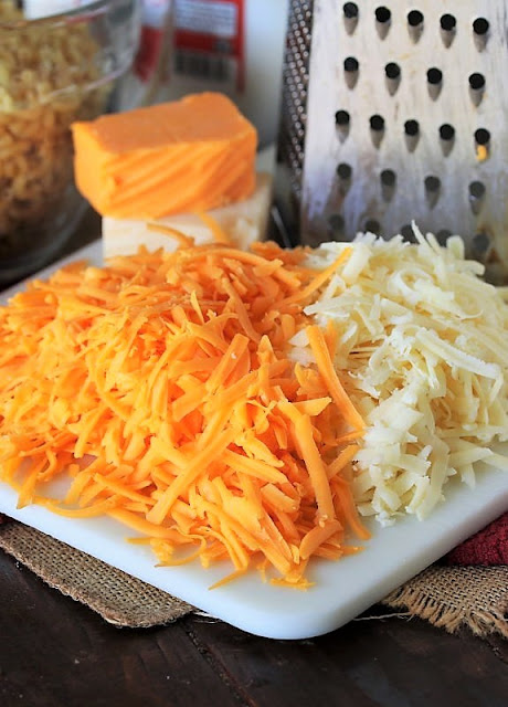 Cheeses to Make 2-Cheese Baked Macaroni and Cheese Image