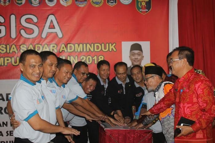 Pj. Bupati Zainal Abidin Hadiri Launching GISA di Provinsi Lampung