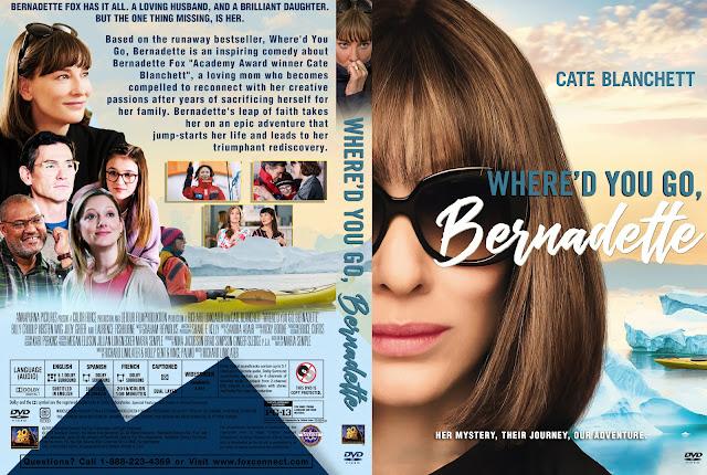 Where'd You Go, Bernadette DVD Cover