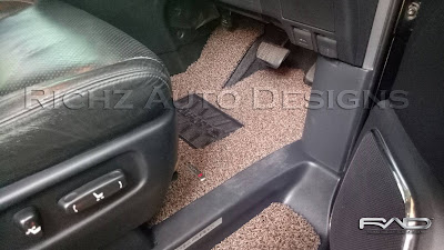 karpet mobil toyota alhpard 2012 comfort premium