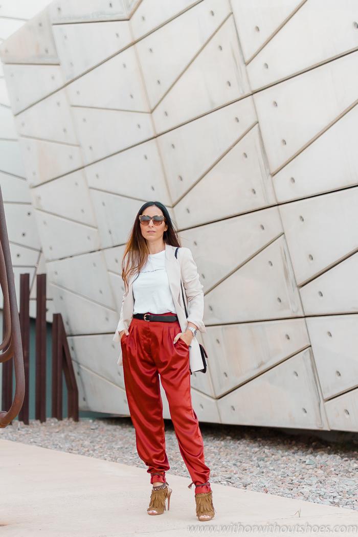 Tendencias: Cómo combinar unos Pantalones Slouchy