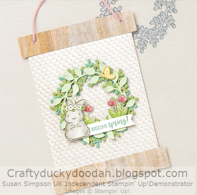 Craftyduckydoodah, Stampin' Up, Springtime Joy, Stamping INKspirations Blog Hop,