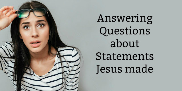 A Collection of 1-minute devotions about unusual statements Christ made. Discovering wonderful truths in every statement!