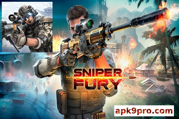 Sniper Fury v5.1.3a Apk mod (File size 32 MB) for android