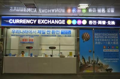 Best places to exchange money in seoul korea study work