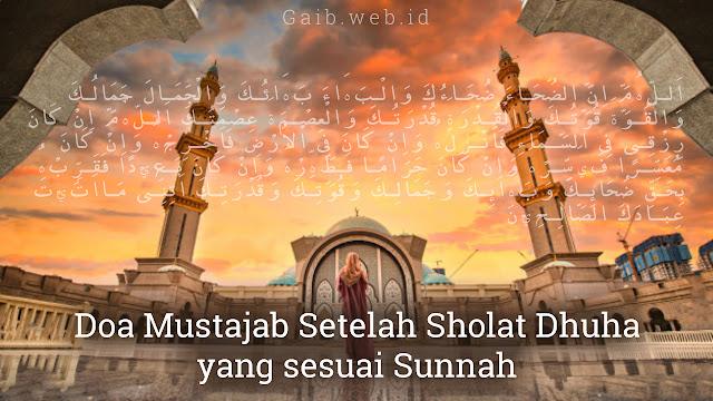 Doa Mustajab Setelah Sholat Dhuha yang sesuai Sunnah
