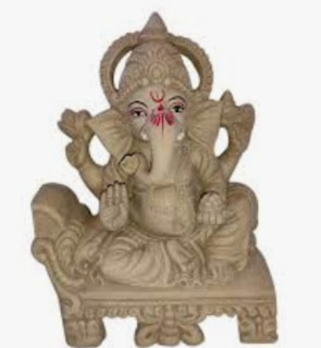 How to make Eco friendly ganesha in very easy and simple method.