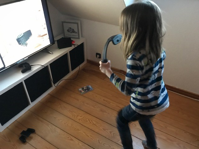 Nintendo RingFit Adventure - Jannes in Action