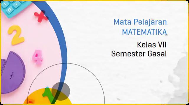 Modul PJJ Matematika SMP Kelas VII Semester Ganjil