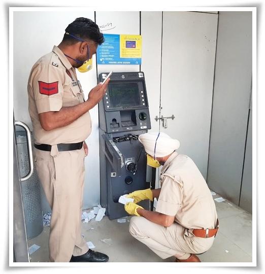 ATM harmed in offer to plunder cash