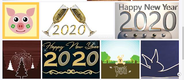ucapan tahun baru 2020 dari pixabay