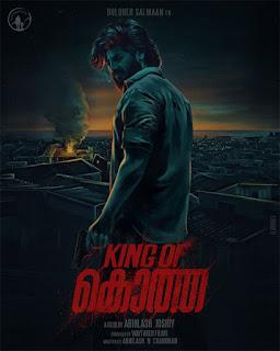 King Of Kotha Malayalam movie, www.mallurelease.com
