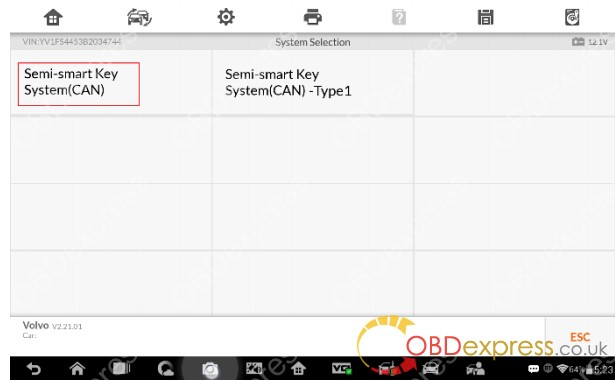 Volvo All Semi-smart Keys Lost on Auro OtoSys  IM600(28)