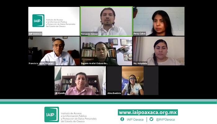 Realiza IAIPO videoconferencia: Acceso a la información com un derecho humano en tiempos de COVID-19
