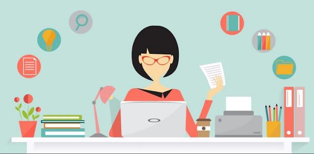 Blogger adalah Salah Satu Contoh Kerja Online