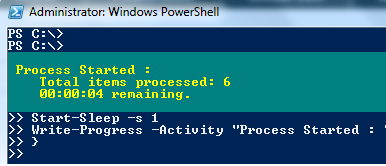 Powershell Pause For 15 Seconds