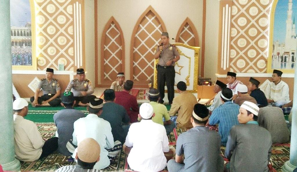 Safari Jum'at di Masjid Nurul Iman, IPTU. Masdar Himbaukan Ini Kepada Jamaah