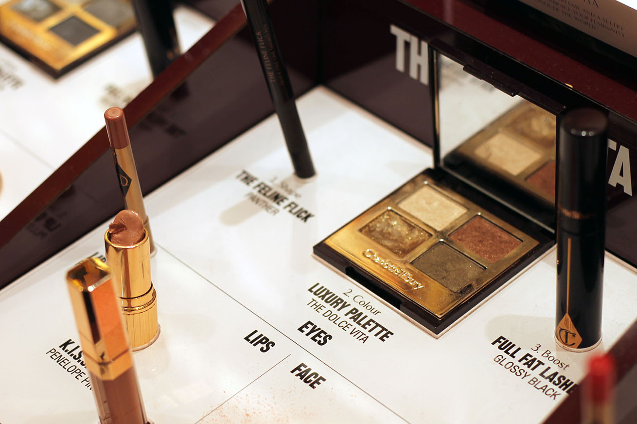 Mother's Day beauty at Selfridges, charlotte tilbury at selfridges, dolce vita