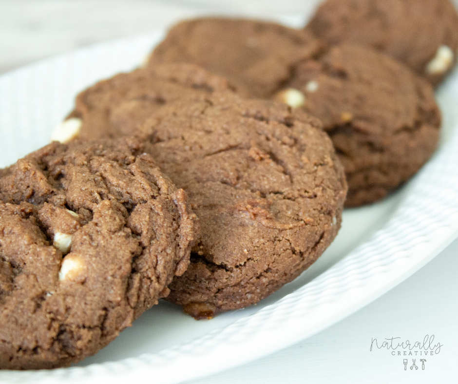 White Chocolate Chip Chocolate Cookies