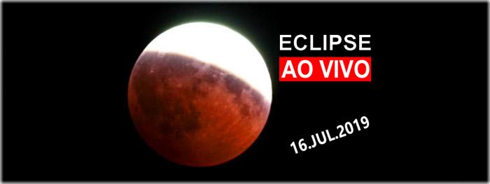 ao vivo eclipse lunar 16 julho 2019