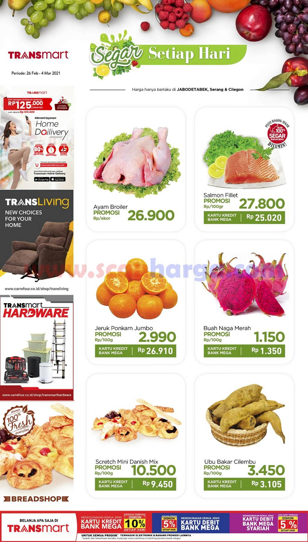 Katalog Carrefour Promo Produk Fresh Weekend 26 Februari - 4 Maret 2021