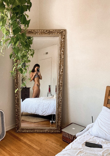 kelly fountain, bikini, bedroom, interior design, aesthetic, Santa Monica