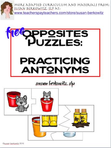free antonym practice