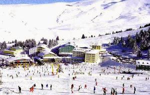 Arena ski di Gunung Uludag