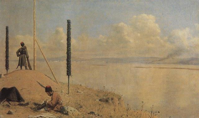 Picket on the Danube-Vasily Vereshchagin