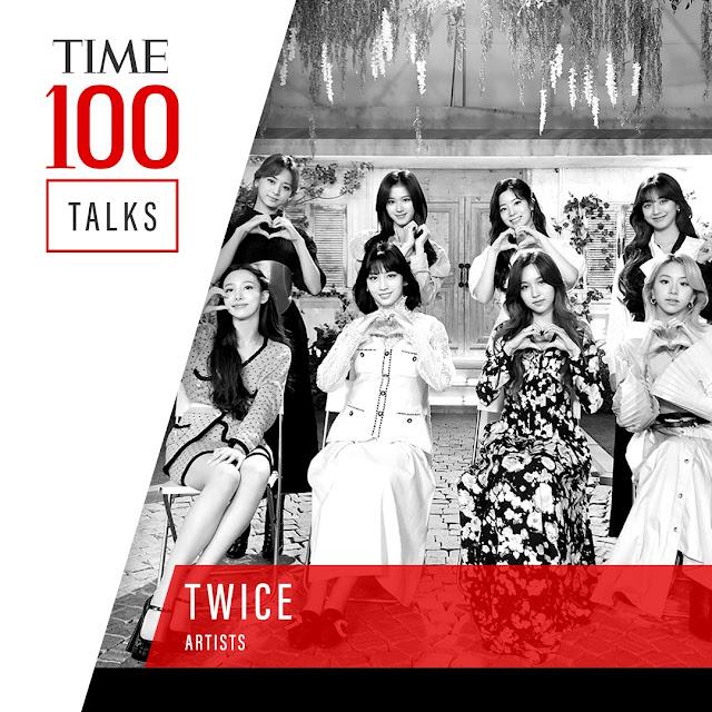 TWICE on TIME 100 Talks