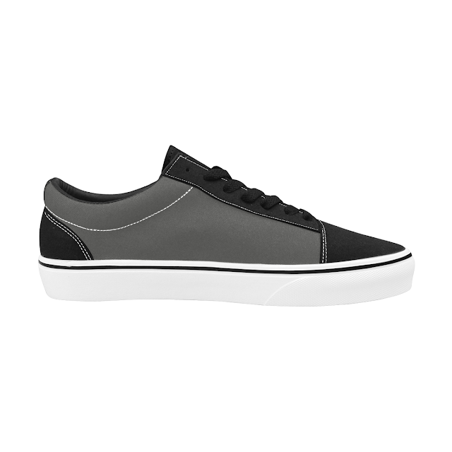 GOMAGEAR SUBLIME LOW CUT SNEAKERS - GREY