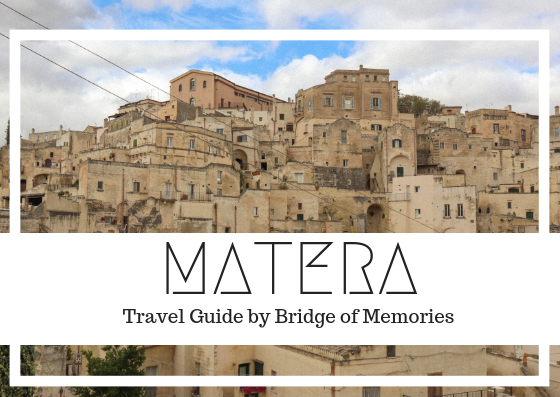 Quick guide to Matera, the Stoned City